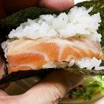 節分の日。手巻き寿司で恵方巻