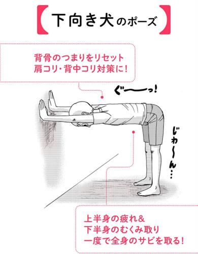 崎田ミナ「ずぼらヨガ」